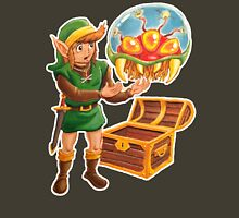 Link finds a Metroid T-Shirt