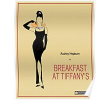 Breakfast at Tiffany's Vintage Movie Poster Poster