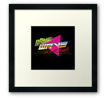 New Wave is Not Dead! Framed Print