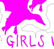 REAL GIRLS WEAR CAMO - DUCK HUNTER Sticker