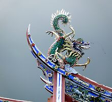 Temple Dragon by Darren Wishart-Brown