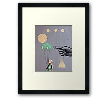 Surprise - Modern Abstract Framed Print