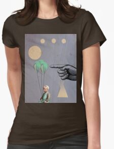 Surprise - Modern Abstract Womens Fitted T-Shirt