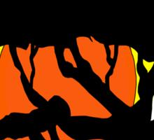 African Sunset  Sticker