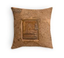 Trapdoor Throw Pillow
