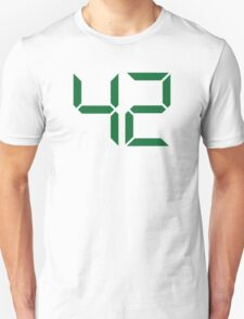Number 42 Unisex T-Shirt