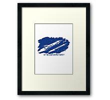 Vostok 3 (cosmos) Spice Framed Print