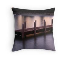 ST LEONARDS BOAT RAMP - Bellarine Peninsula Victoria Australia Throw Pillow