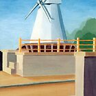 Rye Windmill by Chris King