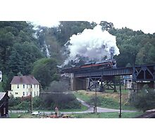 Norfolk & Western #611 - Coopers, WV - 1990 Photographic Print