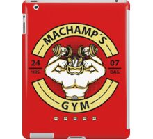 Machamp's gym iPad Case/Skin