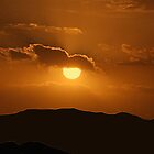Desert Sunset  by Susan van Zyl