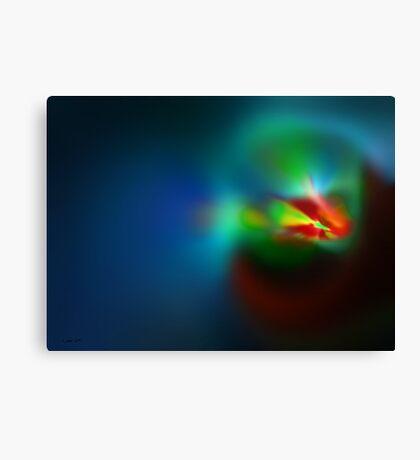 Spontaneous perception Canvas Print