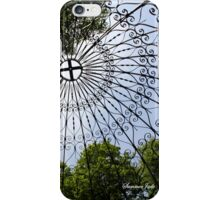 Overhead ~ Inside the Temple of Love iPhone Case/Skin
