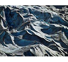 Davidson Glacier Photographic Print