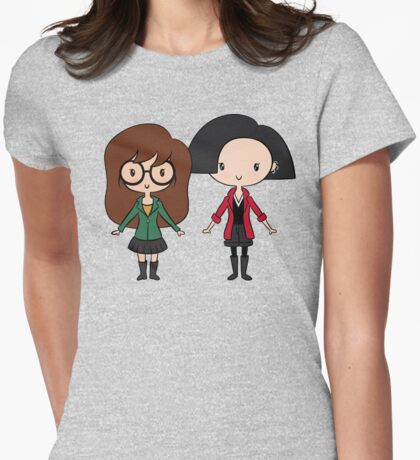 Lil' CutiEs - Esteemers Womens Fitted T-Shirt