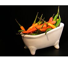 Hotties in a tub... Photographic Print