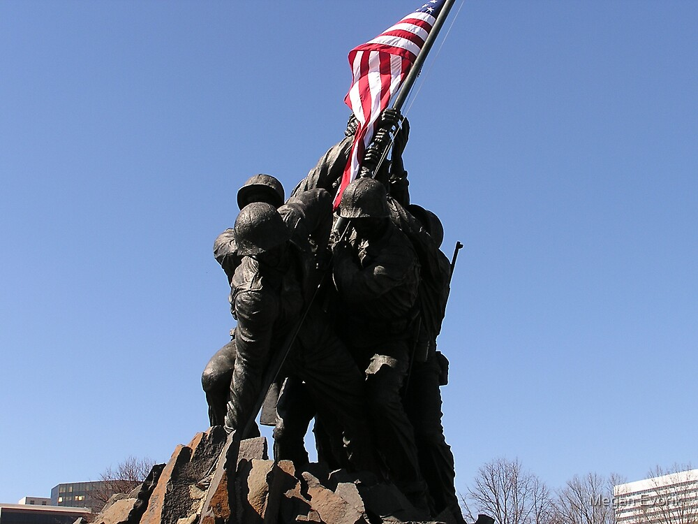Iwo Jima Memorial by Megan Evorik