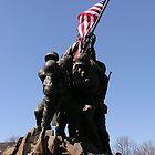 Iwo Jima Memorial by Megan Evorik