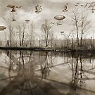Race Of Airship by Philippe Sainte-Laudy