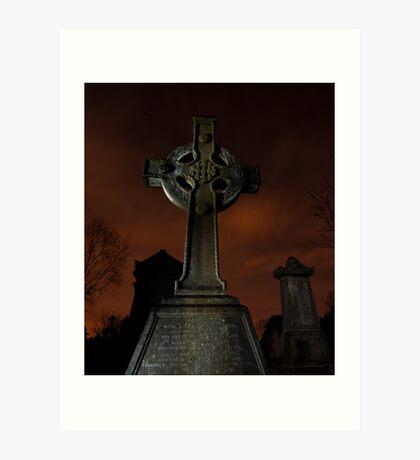 Glasnevin Cemetery Art Print