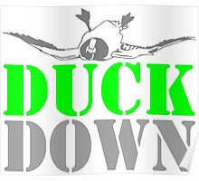 DUCK DOWN Poster
