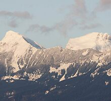 Winter Mountains by imarkimages
