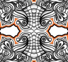 Abstract Symmetry 001 Sticker