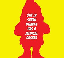 1 in 7 dwarfs has a medical degree by monsterplanet