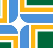 Flag of Portland, Oregon Sticker