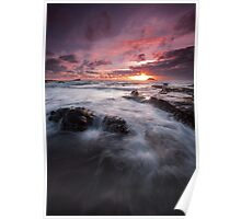 Dramatic Seascape  Poster