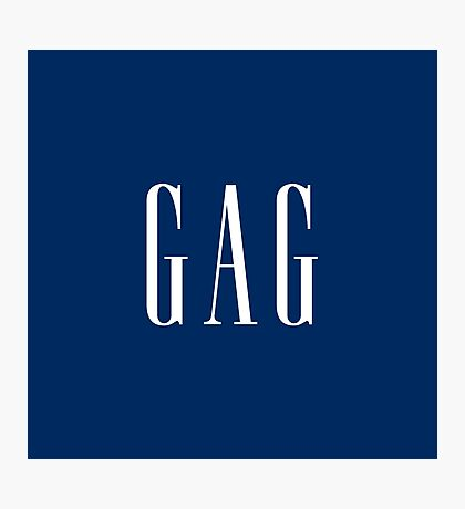"""GAG"" DESIGN Photographic Print"