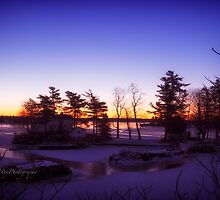 Winter Solstice over Jones Creek by Yannik Hay