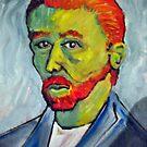 Portrait of Vincent Van Gogh by Richard  Tuvey