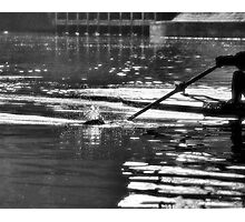 In the ripples of Ratty Photographic Print