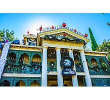 Haunted Mansion Holiday Photographic Print