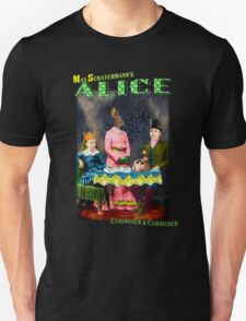 Max Scratchmann's ALICE - The Mad Hatter's Tea Party Unisex T-Shirt