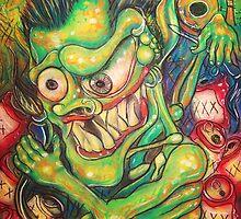 alcoholic demon by americo