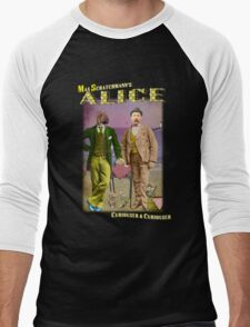 Max Scratchmann's ALICE - The Walrus & the Carpenter Men's Baseball ¾ T-Shirt