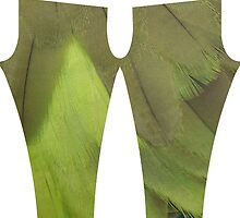 Olive and Kiwi Feathers Merchandise by Lisa Knechtel