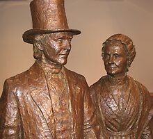 Thomas & Mary Ann McClintock (detail) by vgbg