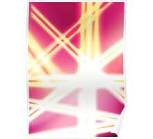 The Abstract Lights Poster