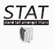 STAND TALL AMONGST TITANS - Attack on Titan by codyfazzin