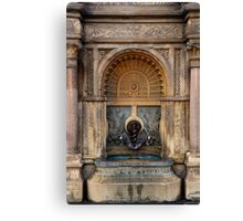 U.S. Capitol Grounds Drinking Fountain - Frederick Law Olmsted - Architect - 1874 Canvas Print