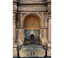 U.S. Capitol Grounds Drinking Fountain - Frederick Law Olmsted - Architect - 1874 Photographic Print