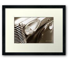 Classic Car 51 Framed Print