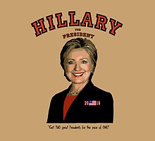 Hillary:  TWO great Presidents for price of one! by Kricket-Kountry