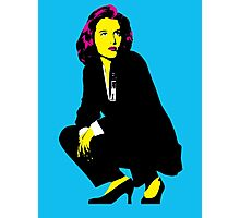 Scully x files Photographic Print