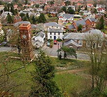 Malvern and the Clock Tower by Rachel Lilly