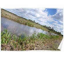 Lake Woodruff, Florida Poster
